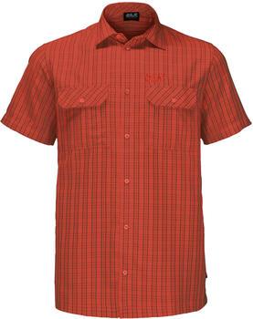 Jack Wolfskin Thompson Shirt Men (1401042) chili checks