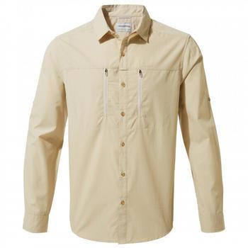 craghoppers-kiwi-boulder-long-sleeved-shirt-cms702-oatmeal