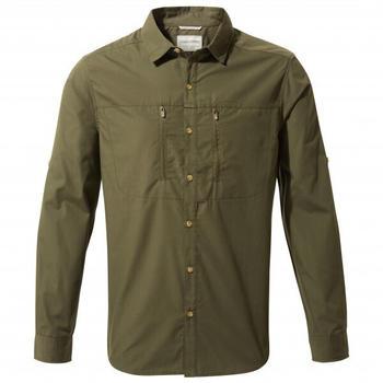 craghoppers-kiwi-boulder-long-sleeved-shirt-cms702-dark-khaki