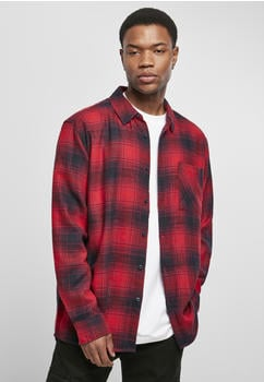 urban-classics-oversized-checked-grunge-shirt-tb3799-02374-0042-black-red