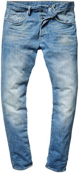 G-Star 3301 Straight Tapered Jeans light aged