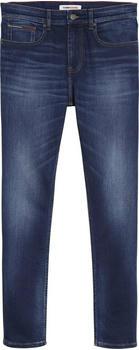Tommy Hilfiger Slim Fit Tapered Faded Jeans aspen dark blue stretch