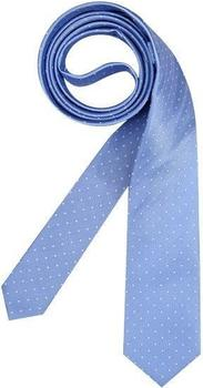 Olymp Herren Krawatte (1799/00) hellblau gepunktet
