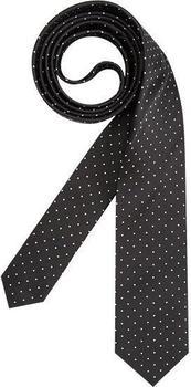 Olymp Herren Krawatte (1799/00) schwarz gepunktet