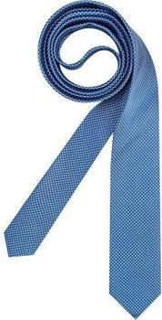 Olymp Herren Krawatte (4698/00) blau gepunktet