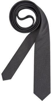 Olymp Herren Krawatte (4698/00) schwarz gepunktet