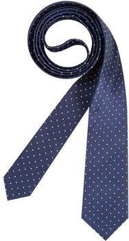 Olymp Herren Krawatte (1799/00) dunkelblau gepunktet