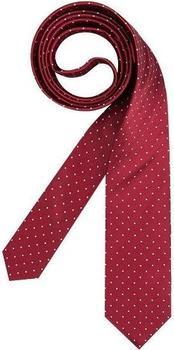 Olymp Herren Krawatte (1799/00) rot gepunktet