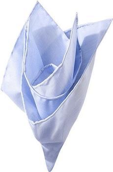 Olymp Herren Einstecktuch Baumwolle bleu