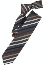 Venti Gewebt Krawatte Gestreift (113639500) braun