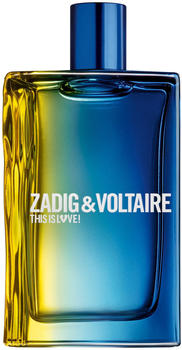 Zadig & Voltaire This is Him This is Love! Pour Lui Eau de Toilette 100ml