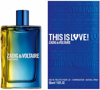 Zadig & Voltaire This is Him This is Love! Pour Lui Eau de Toilette 50ml