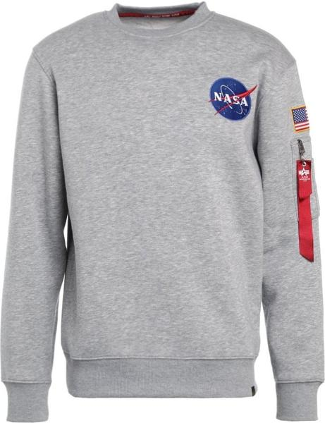 Alpha Industries Space Shuttle Sweater grey (178307-17)