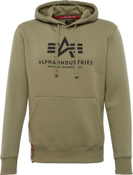 Alpha Industries Basic Hoody olive (178312-11)