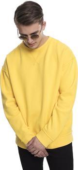 Urban Classics Oversized Open Edge Sweater yellow (TB1590-01148)