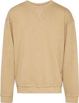 Urban Classics Oversized Open Edge Sweater sand (TB1590-871)