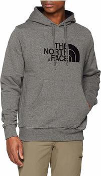 The North Face Herren Drew Peak Kapuzenpullover medium grey heather/black