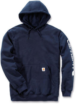 Carhartt Midweight Hooded Logo Sweatshirt ne navy (K288-472)