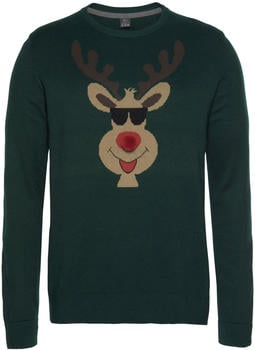 S.Oliver Christmas Pullover green (20.81161-5797-7685)