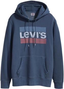 Levi´s Graphic Hoodie blue (19491-10036)