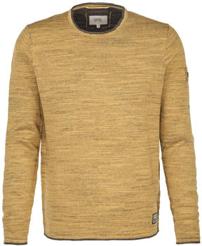 camel active Pullover mit Rollsaum burnt yellow (344062-62)