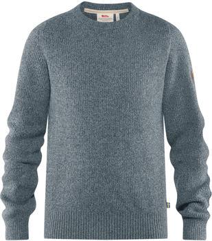 fjaellraeven-greenland-re-wool-crew-neck-m-thunder-grey