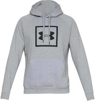 Under Armour UA Rival Fleece Logo Hoodie grey