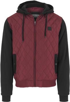 urban-classics-jacket-burgunderschwarz-tb1149-00619