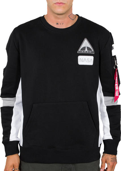 Alpha Industries Space Camp Sweater black (198302)