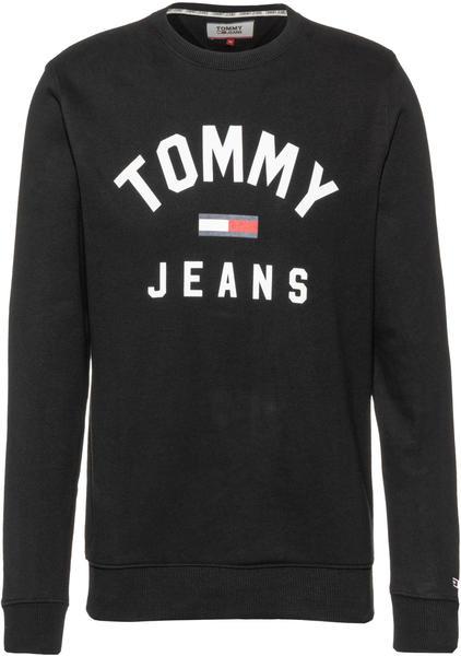 Tommy Hilfiger Essential Logo Sweatshirt black (DM0DM07024)