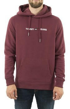 Tommy Hilfiger Chest Logo Relaxed Fit Hoody burgundy (DM0DM07030)