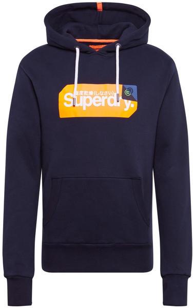 Superdry Core Logo Tag Hood blue (M2000098A)