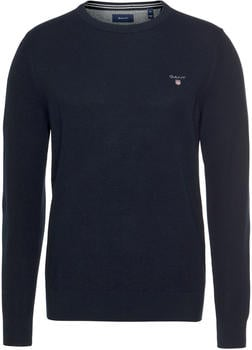 GANT Piqué Sweater evening blue (8030521-433)