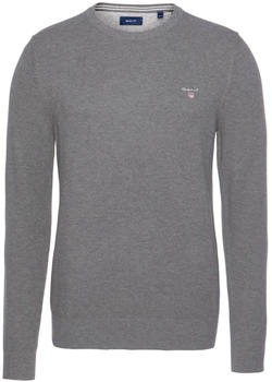 GANT Piqué Sweater dark grey (8030521-92)