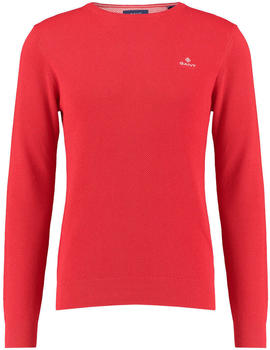 GANT Piqué Sweater bright red (8030521-688)