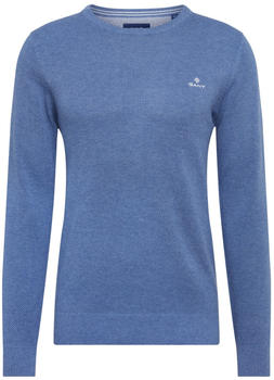GANT Piqué Sweater denim blue (8030521-906)