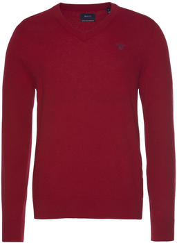 GANT Extra Fine Lambswool V-Neck Sweater red (8010520-610)