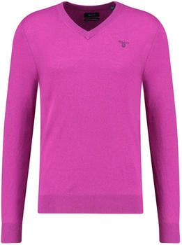 GANT Extra Fine Lambswool V-Neck Sweater strong purple (8010520-532)