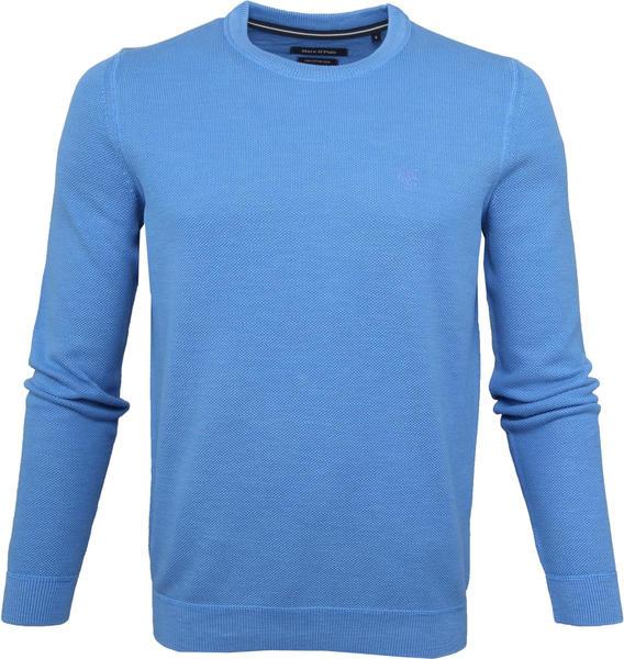 Marc O'Polo Strickpullover in strukturierter Qualität pacific blue (M21500460134)