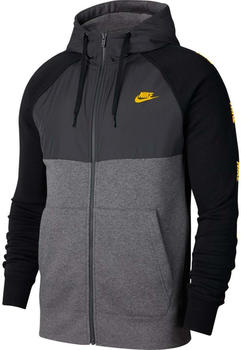 Nike Full-Zip Hoodie charcoal heathr/university gold (CJ4415-071)