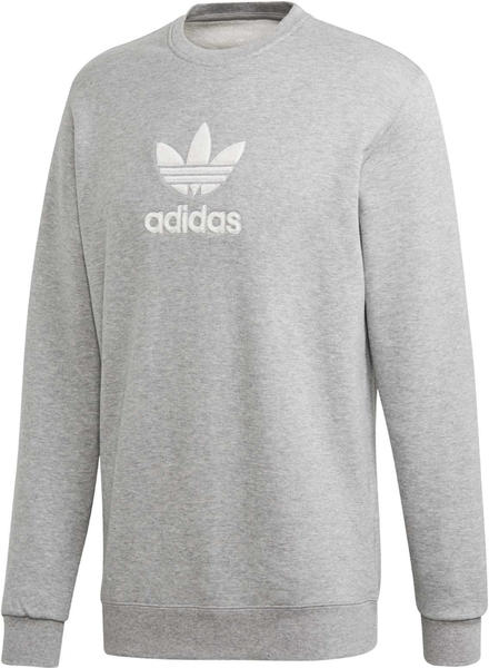 Adidas Men Originals Premium Crew Sweatshirt medium grey (FM9916)