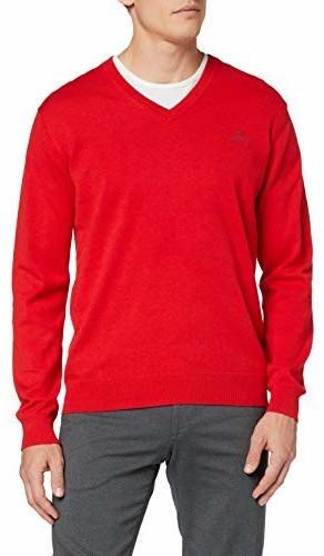 GANT V-Neck Sweater red bright (8030542-688)