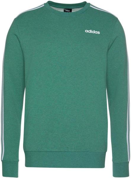 Adidas Men Athletics Essentials 3-Stripes Sweatshirt college green mel./white (FM6046)
