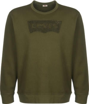Levi's Graphic Crew Fleece Sweatshirt meedle olive (17895)