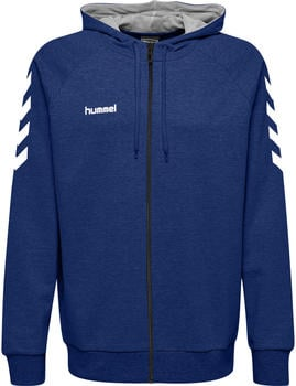 Hummel Go Cotton Zip Hoodie true blue (204230-7045)