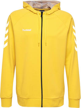 Hummel Go Cotton Zip Hoodie sports yellow (204230-5001)