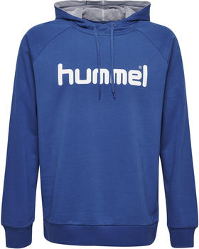 Hummel Go Cotton Logo Hoodie true blue (203511-7045)