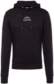 Tommy Hilfiger Logo Embroidery Cotton Hoody black (MW0MW13037)