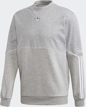 Adidas Outline Sweatshirt medium grey heather (FM3921)