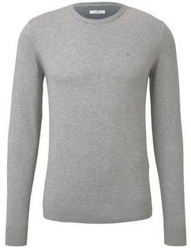 tom-tailor-herren-pullover-knit-grey-melange-1012819